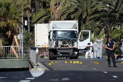 Trucking Terrorism in Nice France 2016