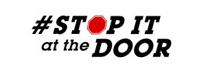 Aggression & Violence, must be stopped at the door