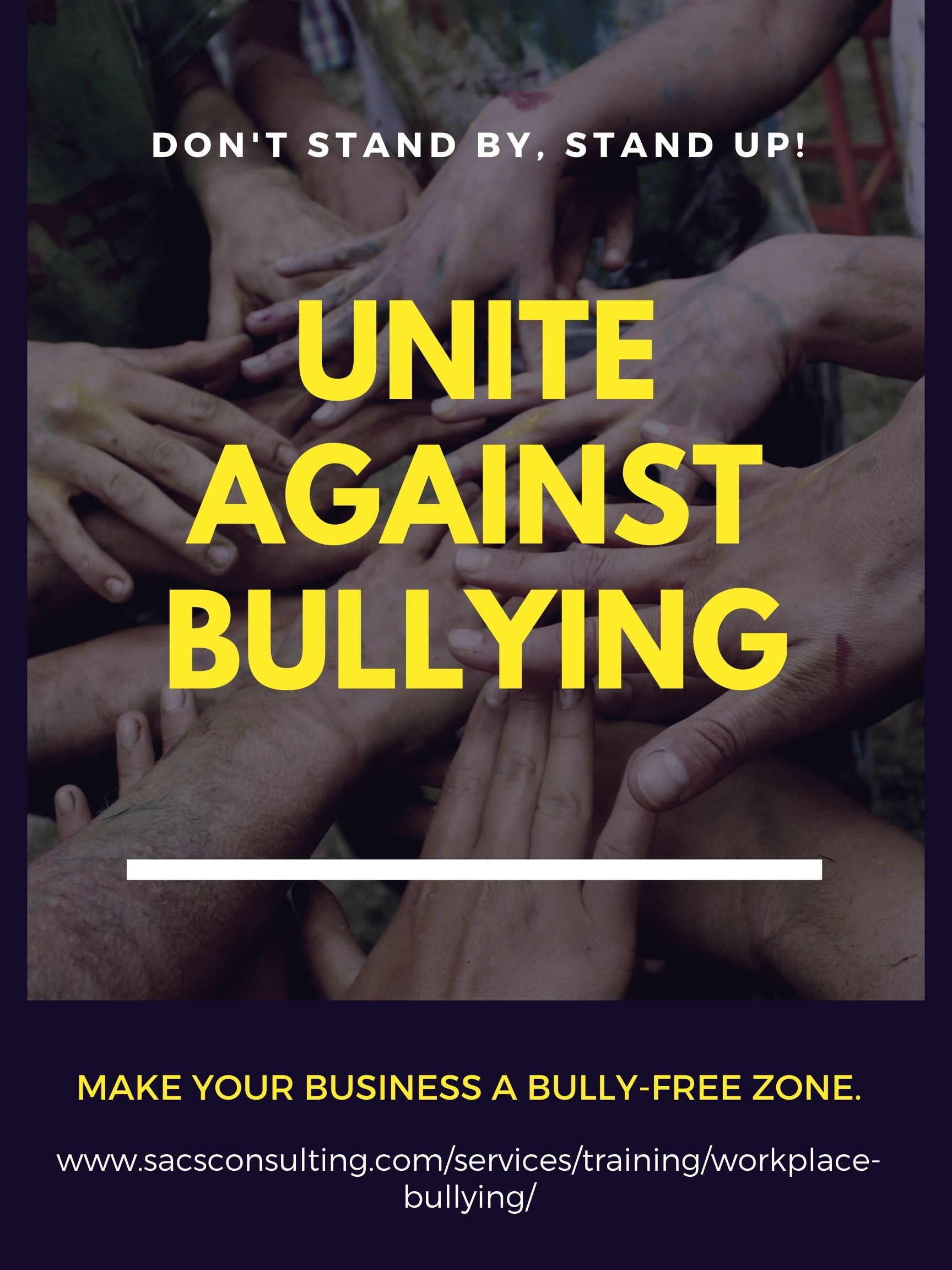 workplace bullying, bullying at work, stop bullying, SACS Consulting and Investigative Services